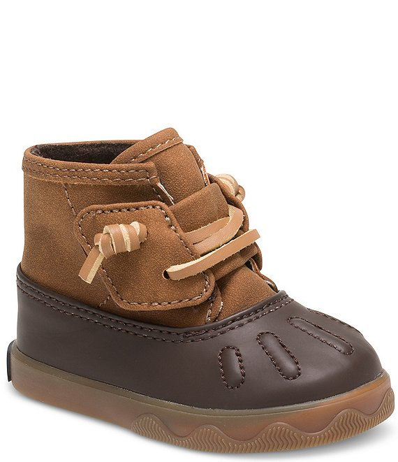 Color:Tan/Brown - Image 1 - Boys' Icestorm Winter Crib Shoes (Infant)