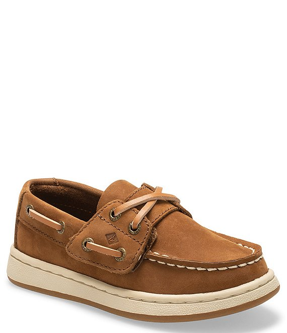 Sperry Boys' Sperry Cup II Leather Jr