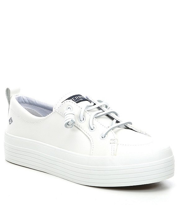 Sperry Crest Vibe Platform Leather Sneakers
