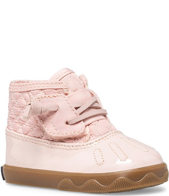 Color:Blush - Image 1 - Girls' Icestorm Crib Shoes (Infant)