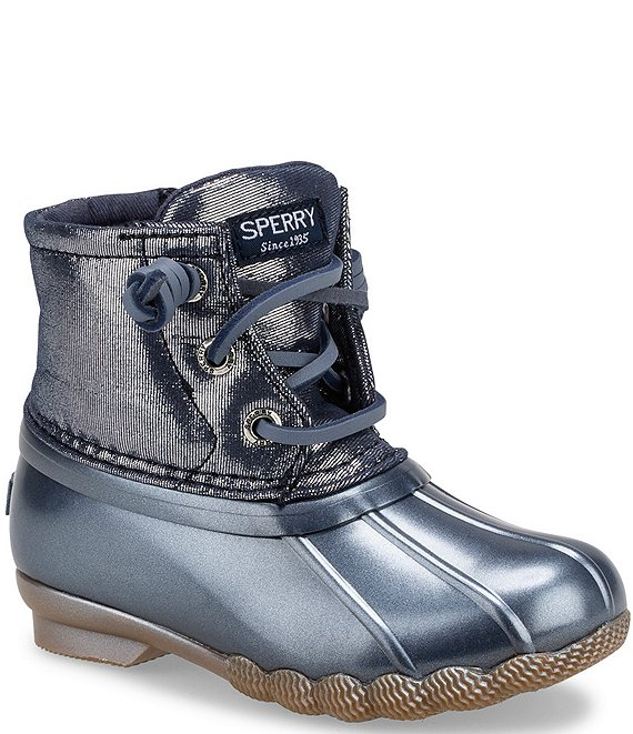 Color:Blue - Image 1 - Girls' Saltwater Winter Boots (Infant)