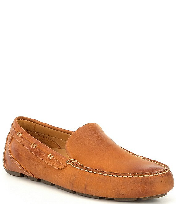Color:Tan - Image 1 - Men's Gold Harpswell Drivers