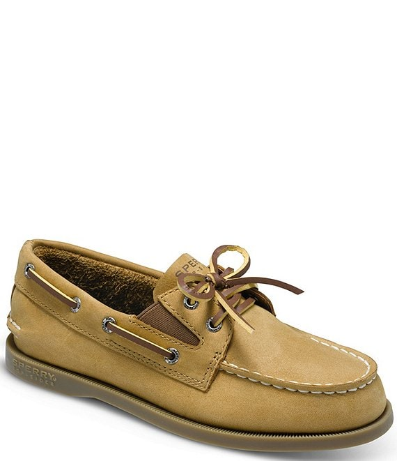 d8a4be11f0ea Sperry Top-Sider A O Girls  Slip-On Casual Boat Shoes