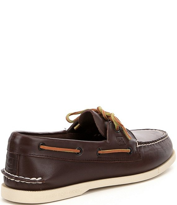Sperry Top-Sider Men/'s Authentic Original 2-Eye Boat Shoes Brown Size 11M