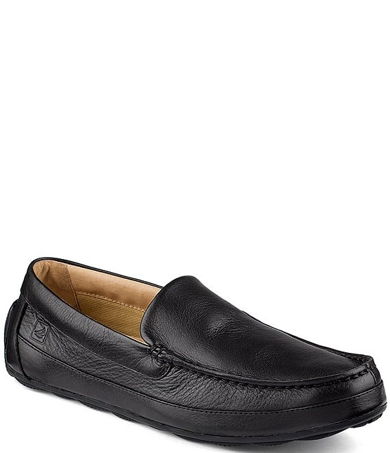 3e83ef4778c Sperry Top-Sider Men s Hampden Venetian Textured Leather Loafers ...