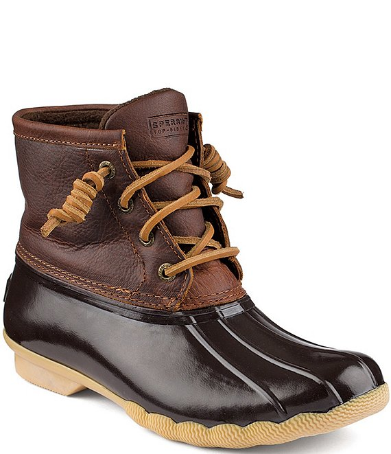 Sperry Top-Sider Saltwater Women's Waterproof Duck Winter Booties