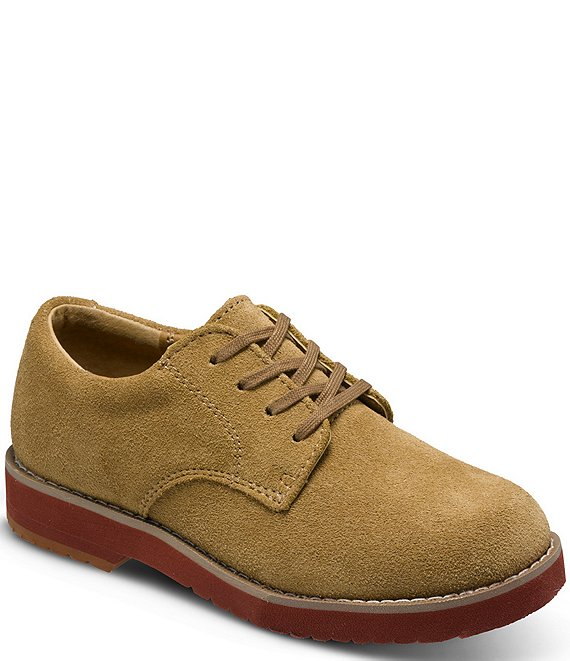 Sperry Boys' Top-Sider Tevin Suede Oxfords (Youth) | Dillard's