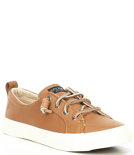 Crest Vibe Leather Sneakers