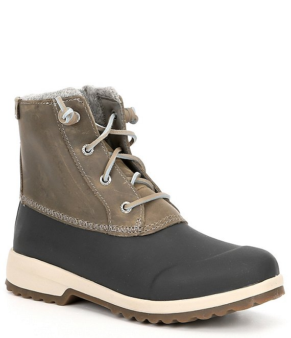 Color:Grey - Image 1 - Women's Maritime Repel Waterproof Winter Boots