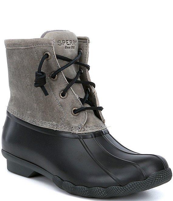 b5cdfeee96cd Sperry Women's Saltwater Waterproof Duck Rain Boots | Dillard's