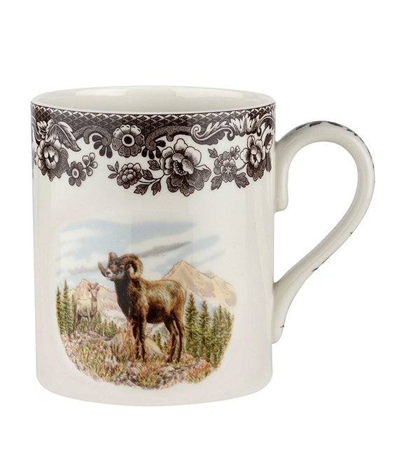 Spode Festive Fall Collection Woodland Bighorn Sheep Mug