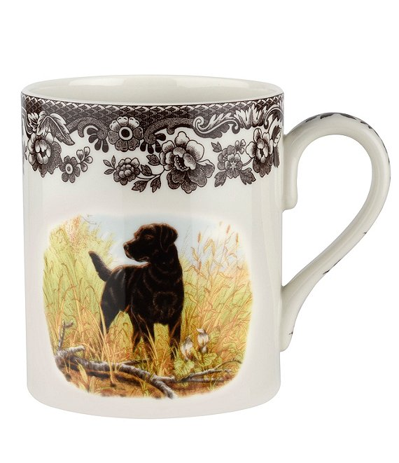 Spode Festive Fall Collection Woodland Hunting Dogs Mug