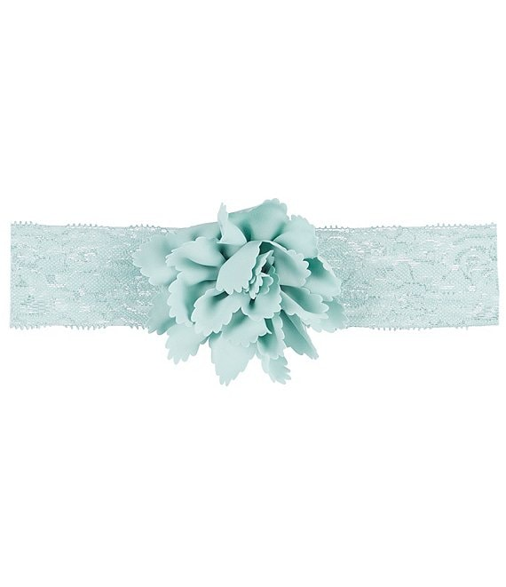 Starting Out Baby Girls Nylon Flower Lace Headwrap