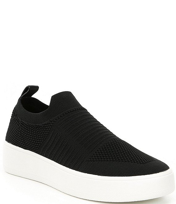 Color:Black - Image 1 - Beale Stretch Knit Sneakers