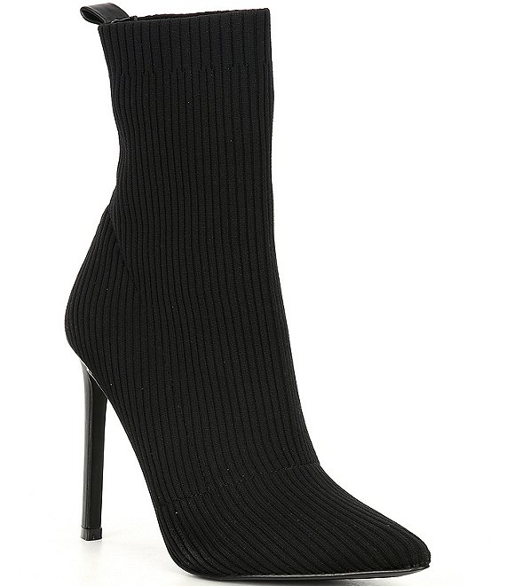 Color:Black - Image 1 - Dianne Knit Booties