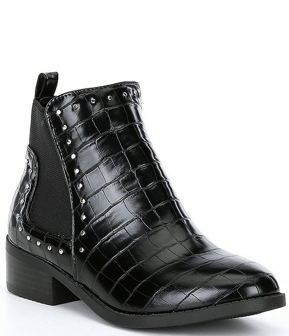 Color:Black - Image 1 - Girls' J-Case Booties (Youth)