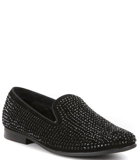 b1f25171f29 Steve Madden Men's Caviarr Crystal Embellishment Slip-On Loafers