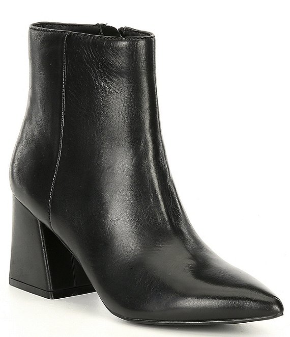 Color:Black - Image 1 - Nix Leather Booties