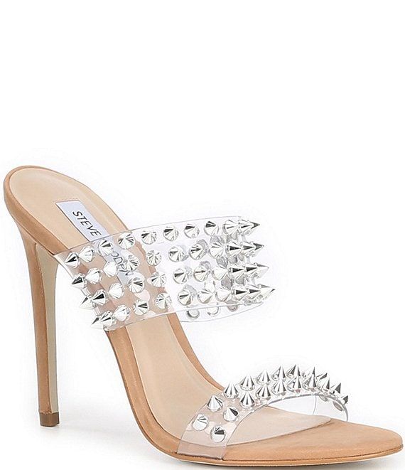 Color:Camel/Multi - Image 1 - Radar Studded Dress Sandals