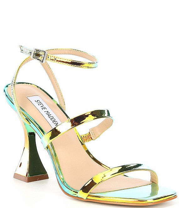 Color:Iridescent - Image 1 - Scorpius Iridescent Dress Sandals