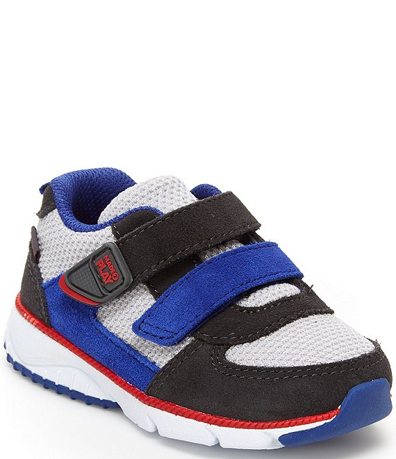 Color:Grey Multi - Image 1 - Boys' Made2Play Kash Sneakers (Toddler)