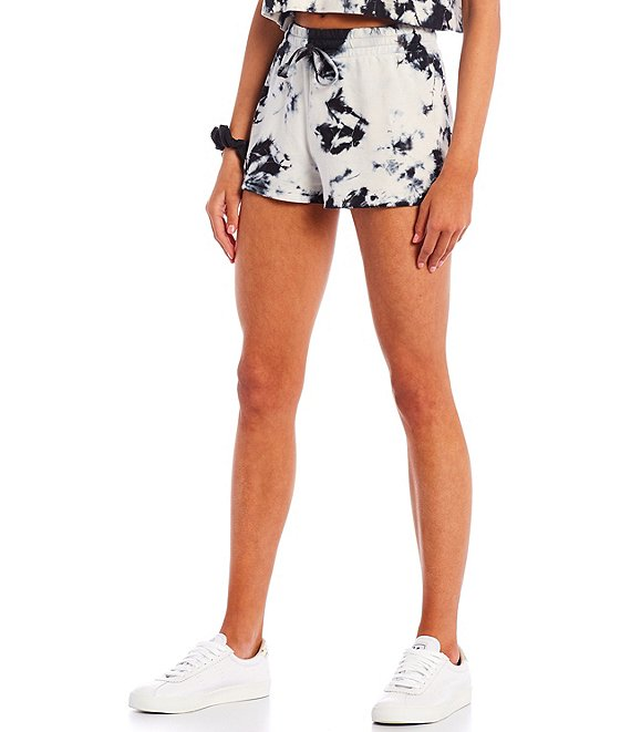 Color:Black - Image 1 - Sundown by Splendid Coordinating Playa Tie Dye Short
