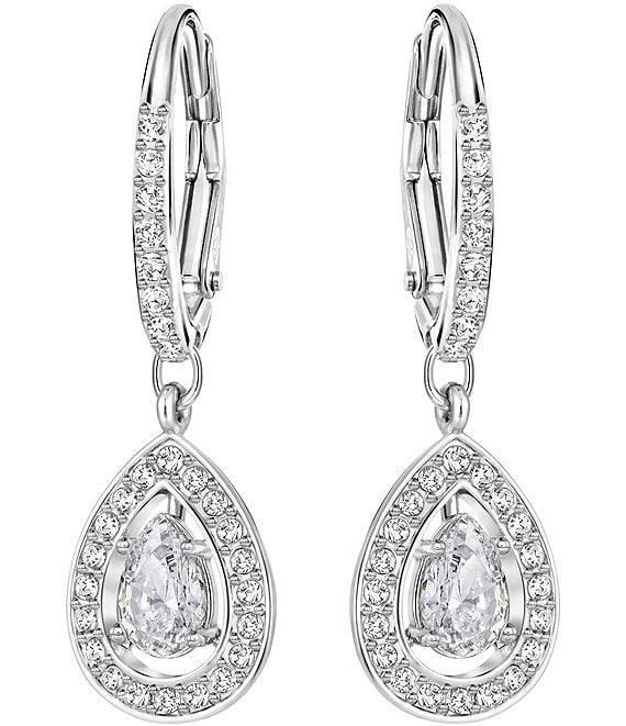 Swarovski Attract Light Teardrop Earrings