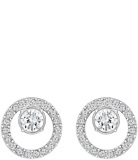 80209b06c Swarovski Creativity Circle Stud Earrings | Dillard's
