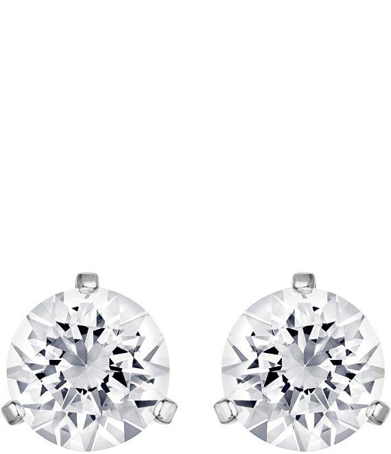 8c63b5d58 Swarovski Crystal Solitaire Earrings   Dillard's