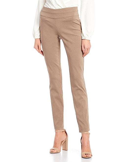 Color:Truffle - Image 1 - Pull On Millennium Dress Pants