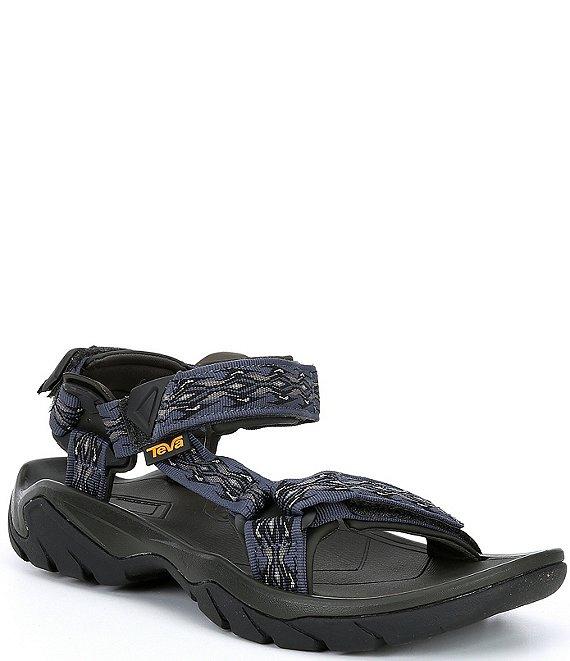 Black Teva Terra Fi 5 Universal Mens Sandals