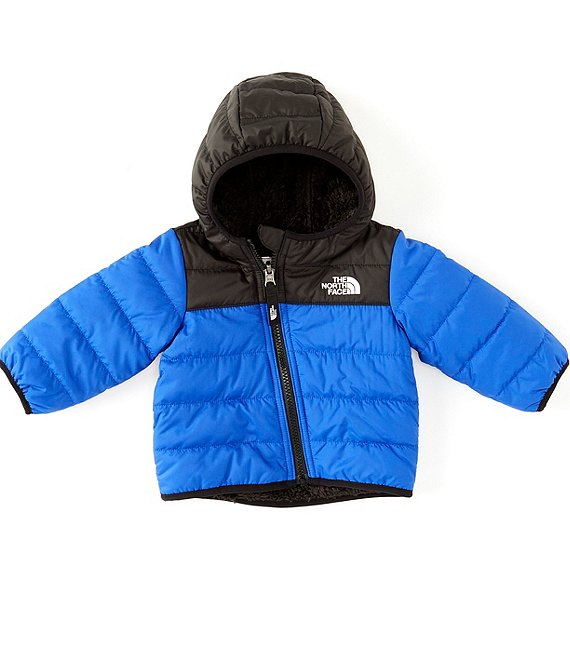 Color:Blue - Image 1 - Baby Boys Newborn-24 Months Reversible Colorblock Mount Chimborazo Hoodie