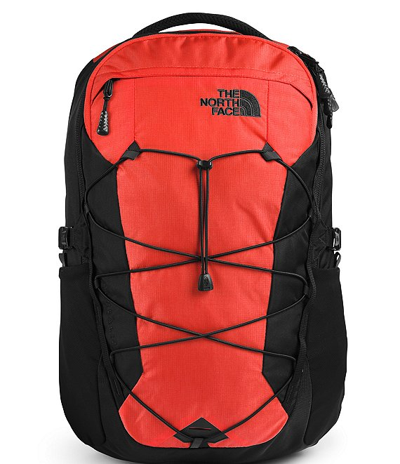 Color:Flare Ripstop/TNF Black - Image 1 - Men's Borealis Backpack