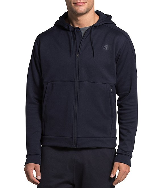 Color:Aviator Navy - Image 1 - Kinetic Fleece Long-Sleeve Full-Zip Hoodie