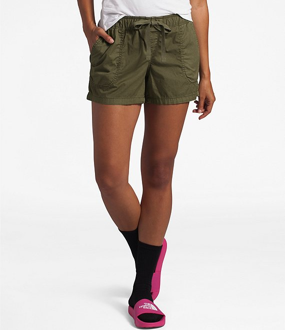 The North Face Motion Cotton Blend Twill Stretch Pull-On Shorts