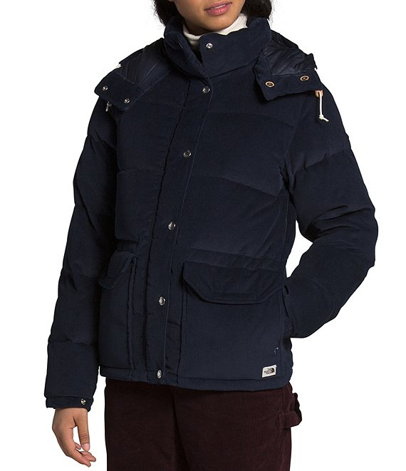 The North Face Sierra Down Corduroy Hooded Parka
