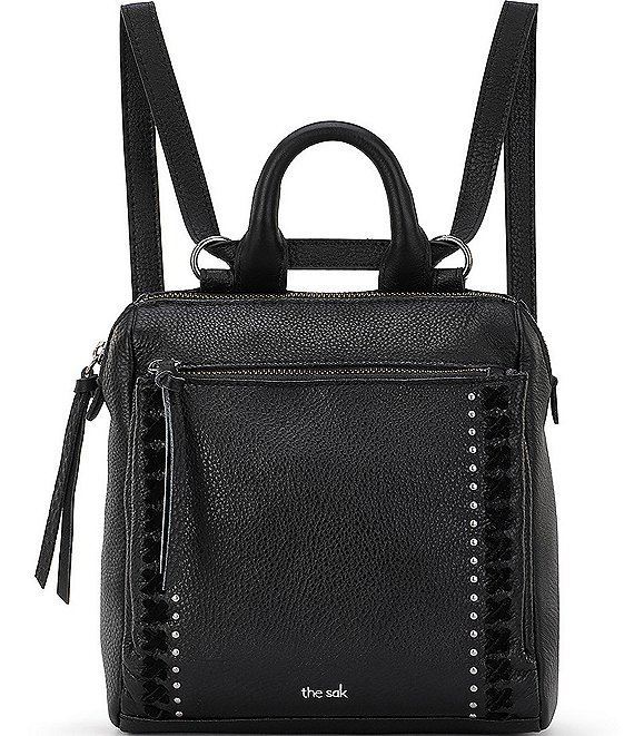 Color:Black - Image 1 - Loyola Mini Convertible Backpack