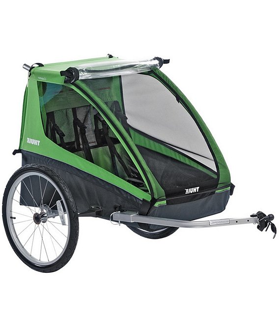 Color:Green - Image 1 - Cadence Double Bike Trailer