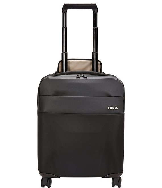 Color:Black - Image 1 - Spira Compact Carry-On Spinner 27L