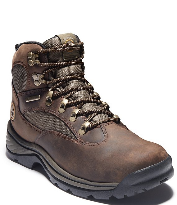 Color:Medium Brown - Image 1 - Men's Chocorua Trail Waterproof Mid Hikers