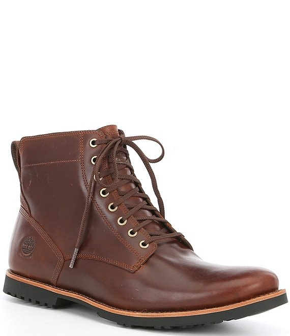 Color:Saddle Brown - Image 1 - Men's Kendrick Waterproof Side Zip Boot