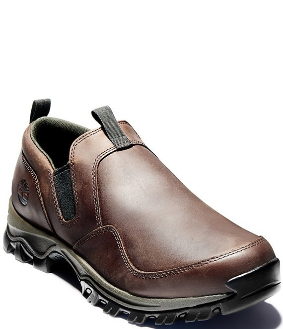 Color:Dark Brown - Image 1 - Men's Mt Maddsen Slip-Ons