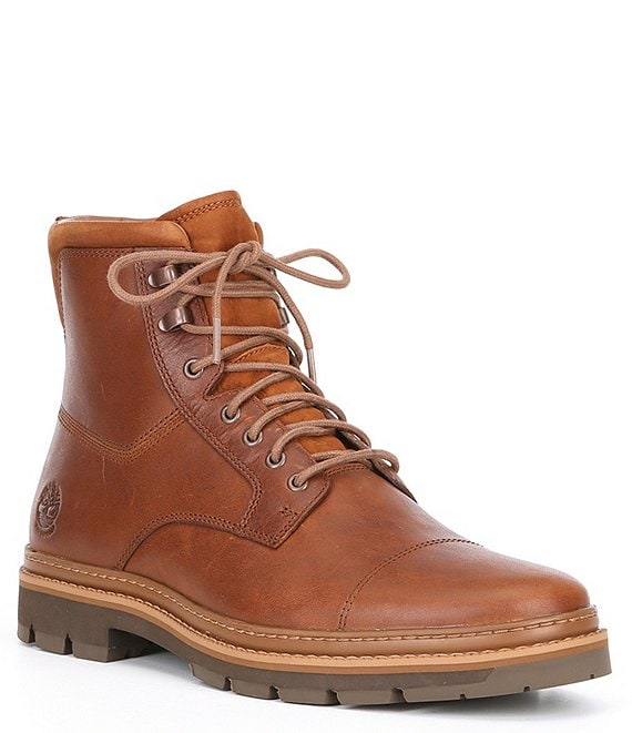 Color:Medium Brown - Image 1 - Men's Port Union Waterproof Insulated Boots