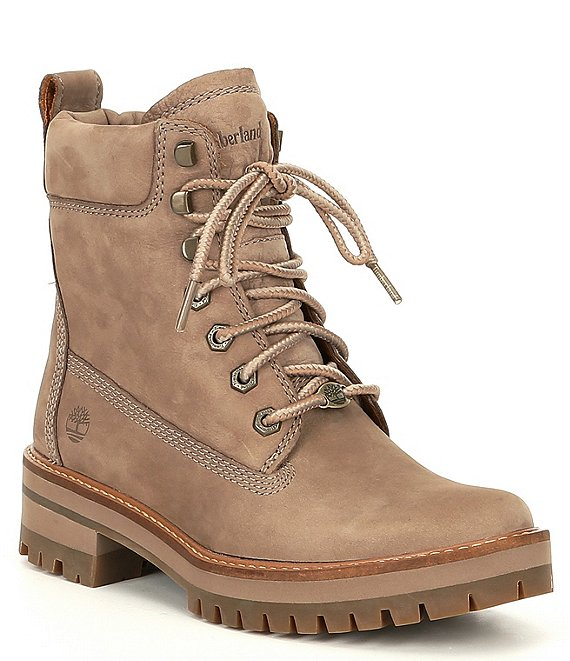 Courmayeur Valley Leather Combat Boots