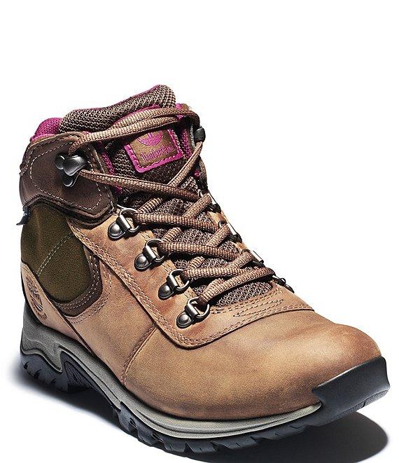 0cdd6e66d Timberland Women's Mt Maddsen Mid Waterproof Hiking Boots | Dillard's