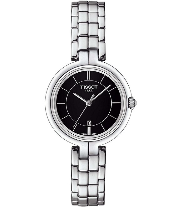 Tissot Flamingo Stainless Steel Bracelet Watch