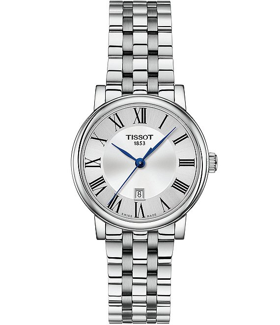 Tissot Ladies Carson Premium Stainless Steel Bracelet Watch