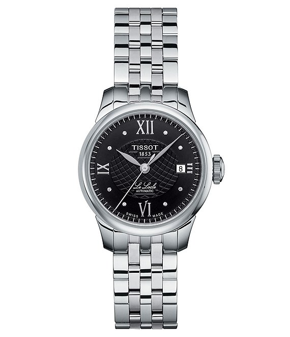 Tissot Le Locle Automatic Black Dial Lady Watch