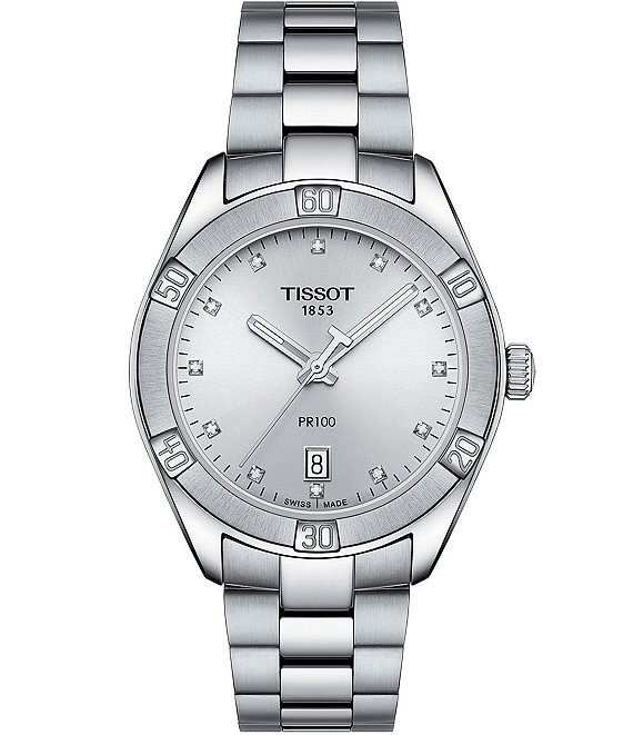 Tissot PR 100 Sport Chic Stainless Steel Watch