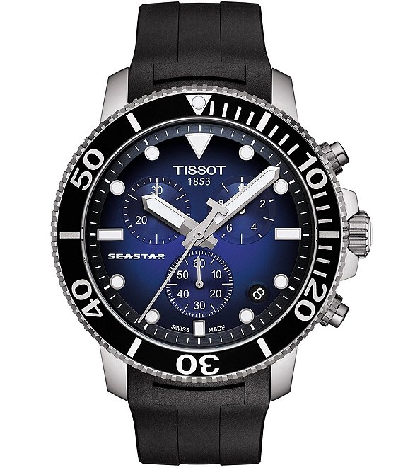 Tissot Seastar 100 Chronograph Watch